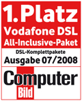 Vodafone DSL-Kompletpaket vier Monate Gratis